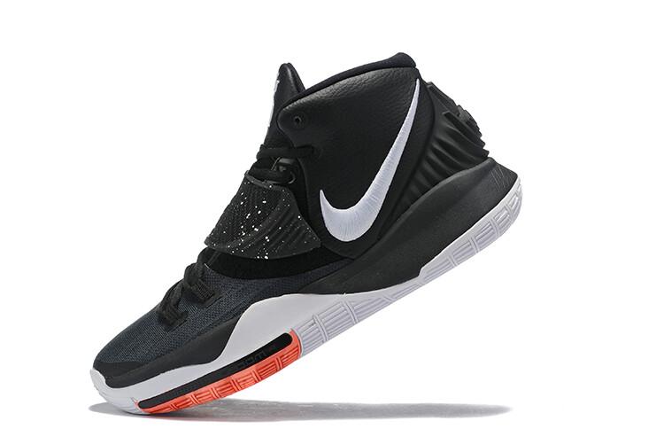 Men's Kyrie Irving  Kyrie 6 Basketball Shoes Black White