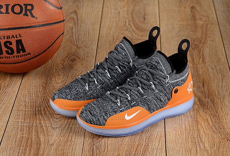 Men's Zoom Kd 11 Low Basketball Heather Grey