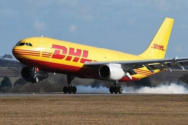 DHL express Postage gap
