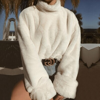 Hailey Pure Fur Pullover