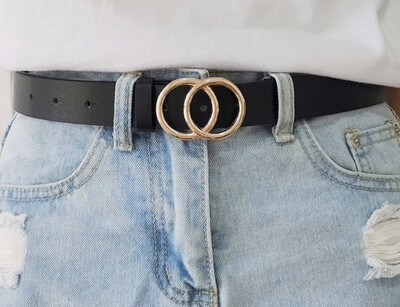 Lady O Ring belt