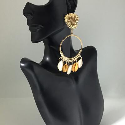Mermaid Shells Earrings