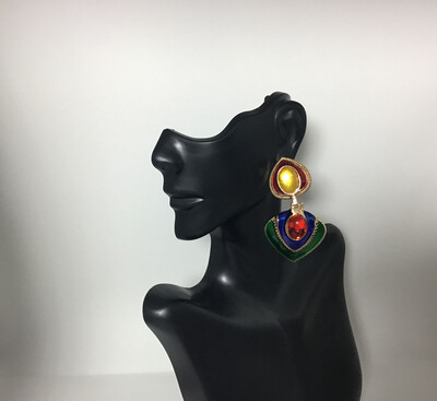 Afrocentric Boho Earrings