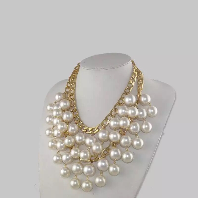 Sasha Pearls layered Necklace