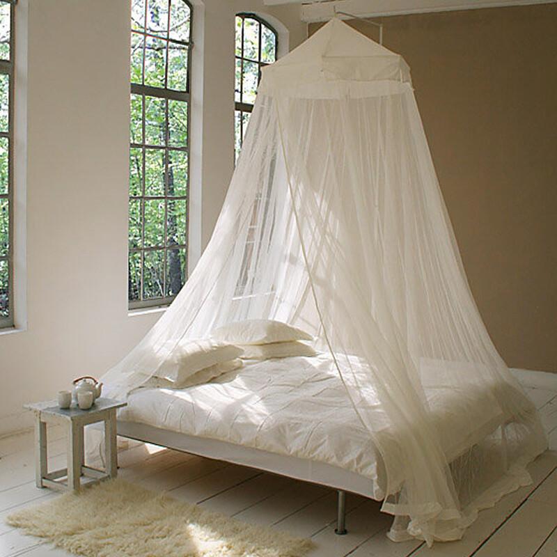 Moustiquaire de lit circulaire