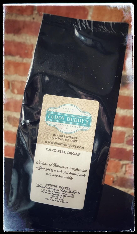 Fuddy Duddy's Carousel Decaf Ground Coffee