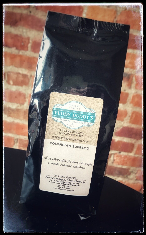 Fuddy Duddy's Colombian Suprimo Ground Coffee