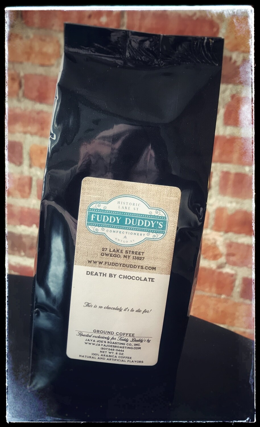 Fuddy Duddy's Death By Chocolate Ground Flavored Coffee