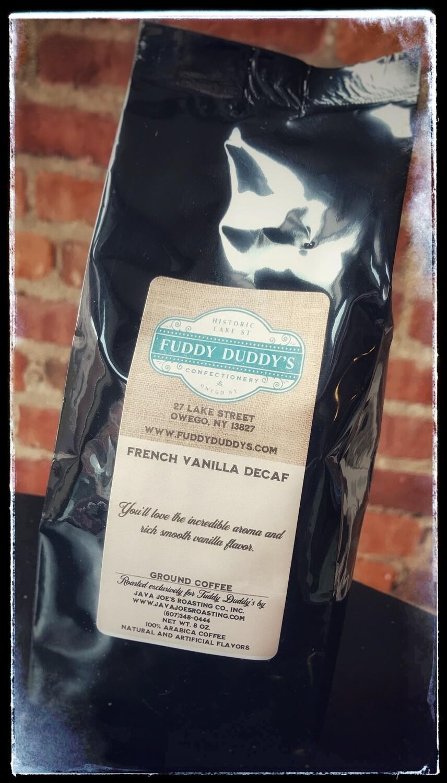 Fuddy Duddy's French Vanilla Decaffeinated Ground Coffee