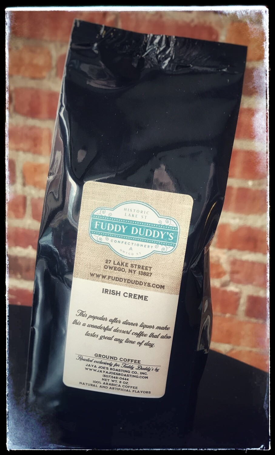 Fuddy Duddy's Irish Creme Ground Flavored Coffee