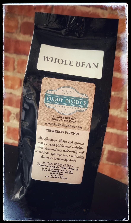 Fuddy Duddy's Whole Bean Espresso Coffee