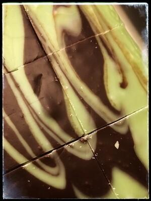 CHOCOLATE MINT SWIRL FUDGE