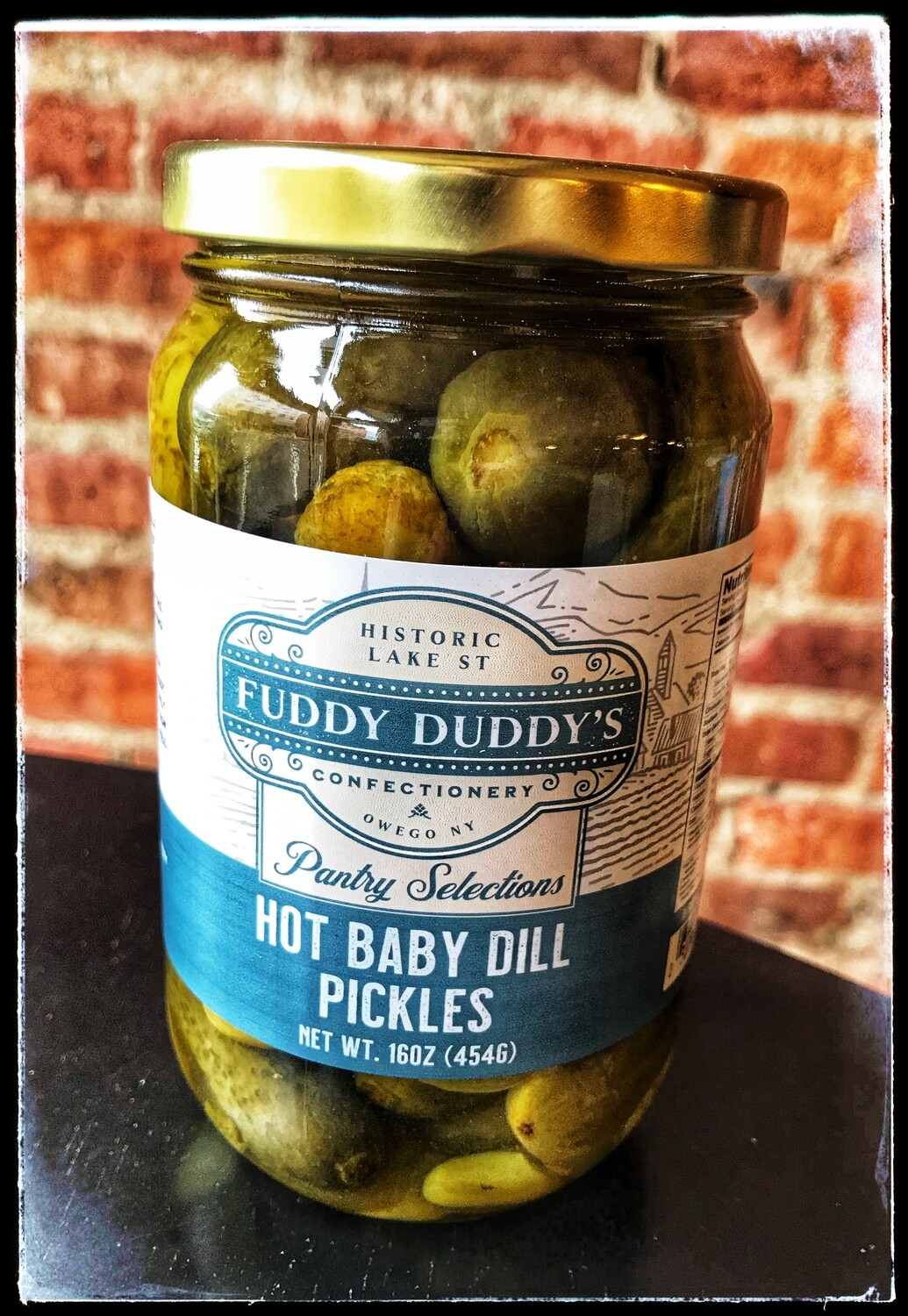 Fuddy Duddy's Hot Baby Dill Pickles