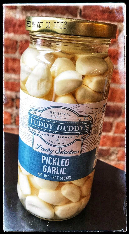 Fuddy Duddy's Pickled Garlic