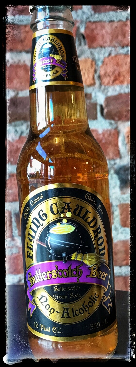 Flying Cauldron Butterscotch Beer NA