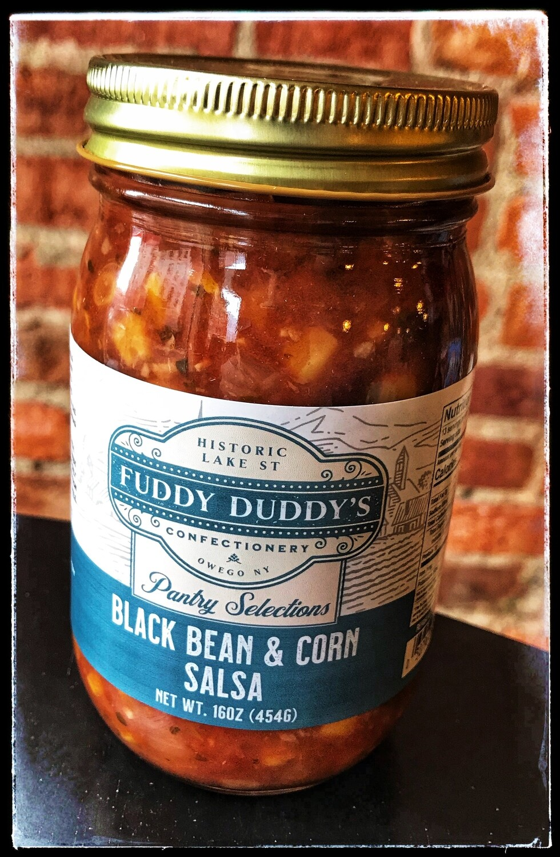 Fuddy Duddy's Black Bean & Corn Salsa