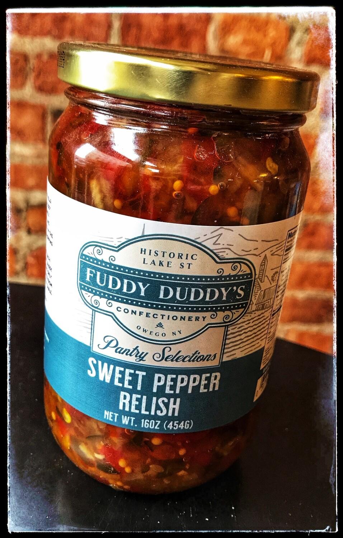 Fuddy Duddy's Sweet Pepper Relish