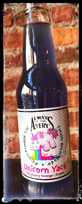 "Avery's ""Totally Gross Soda"" - Unicorn Yack (Raspberry/Orange Cream)"