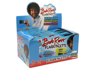 Bob Ross Paintbrush Dipping Candy