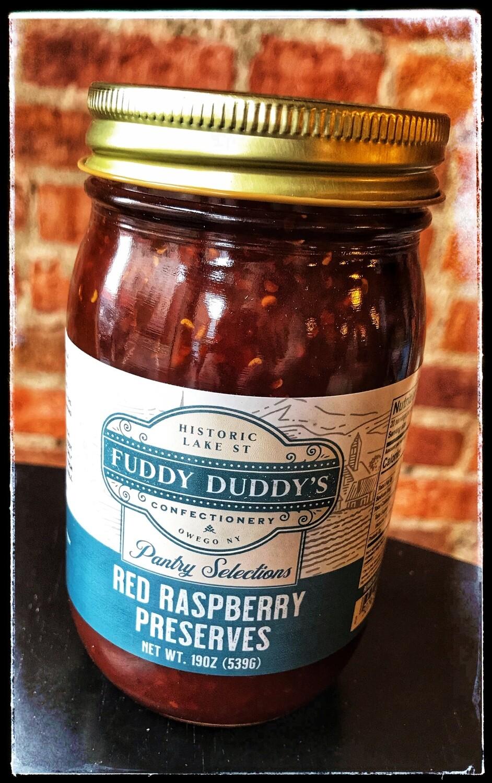 Fuddy Duddy's Red Raspberry Preserves