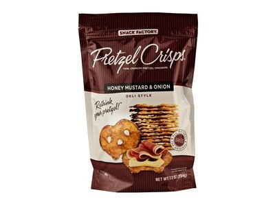 Pretzel Crisps - Honey Mustard & Onion