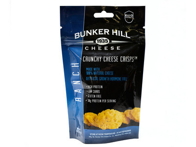Bunker Hill Crunchy Cheese Crisps - RANCH