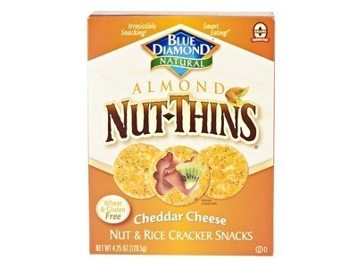 Almond Nut Thins - Cheddar Cheese