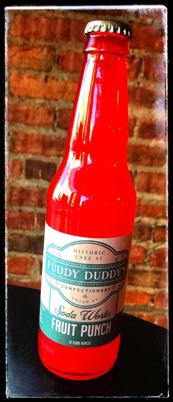 Fuddy Duddy's Fruit Punch Soda