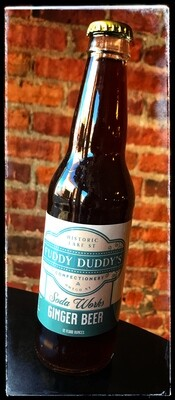 Fuddy Duddy's Ginger Beer Soda