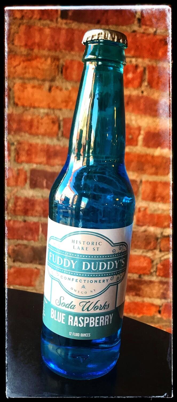 Fuddy Duddy's Blue Raspberry Soda