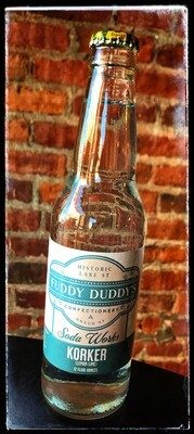 Fuddy Duddy's Korker (Lemon Lime) Soda