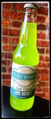 Fuddy Duddy's Lime Rickey Soda