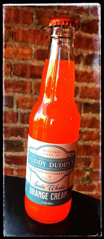 Fuddy Duddy's Orange Cream Soda