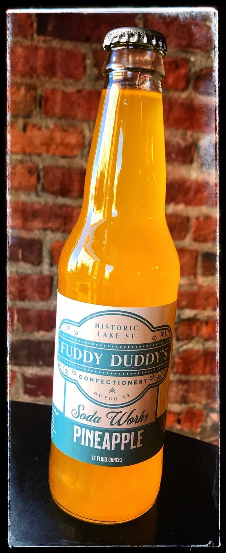 Fuddy Duddy's Pineapple Soda