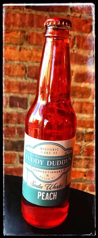Fuddy Duddy's Peach Soda
