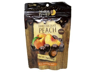 Dark Chocolate Peach Chews