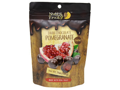 Dark Chocolate Pomegranate Chews