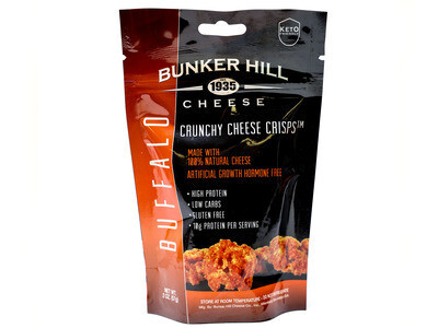 Bunker Hill Crunchy Cheese Crisps - BUFFALO