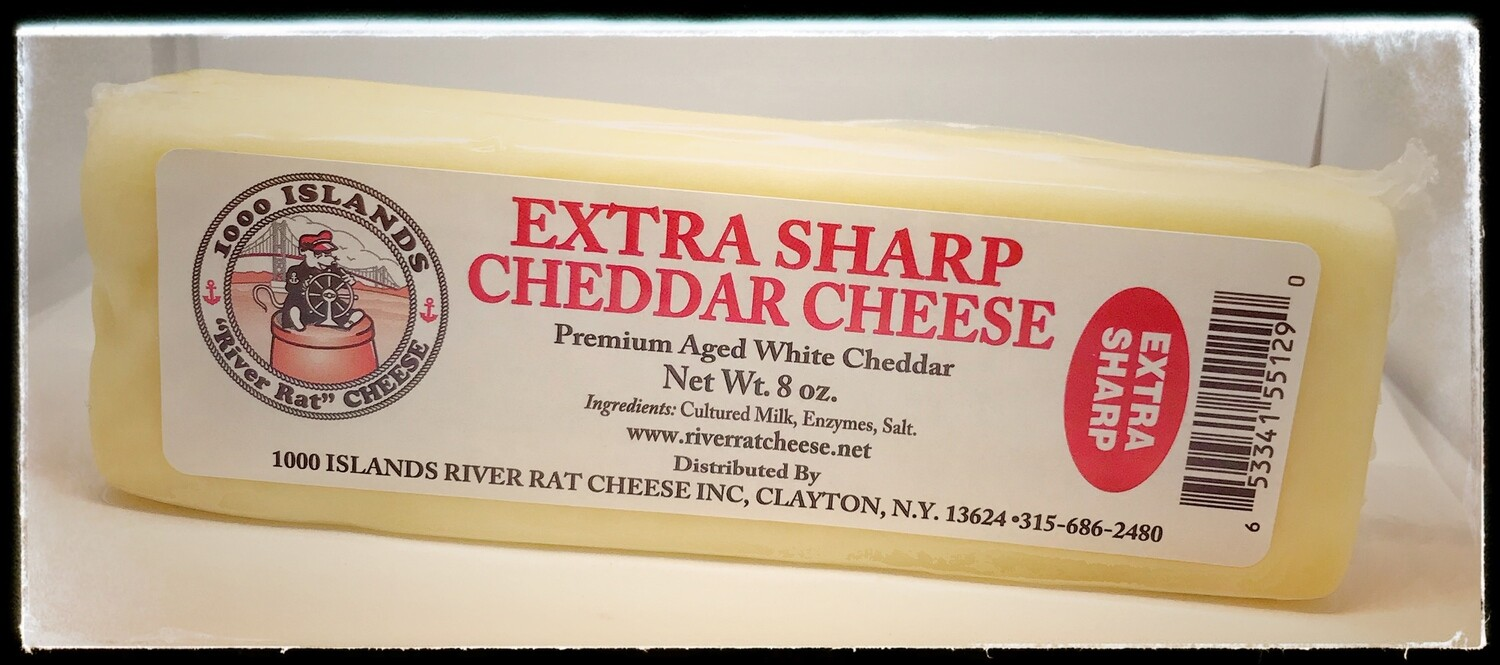 River Rat Extra Sharp Cheddar Cheese