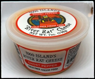River Rat Ghost Pepper Cheese Tub