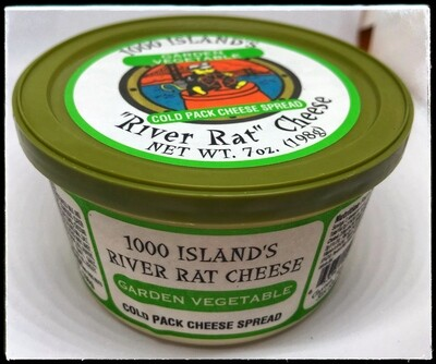 River Rat Garden Vegetable Cheese Tub
