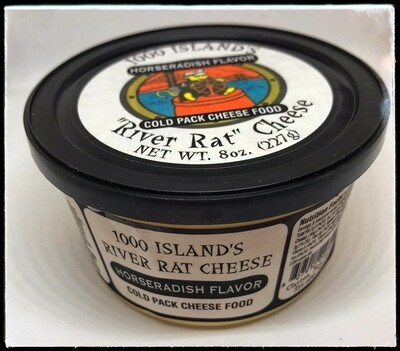 River Rat Horseradish Cheese Tub