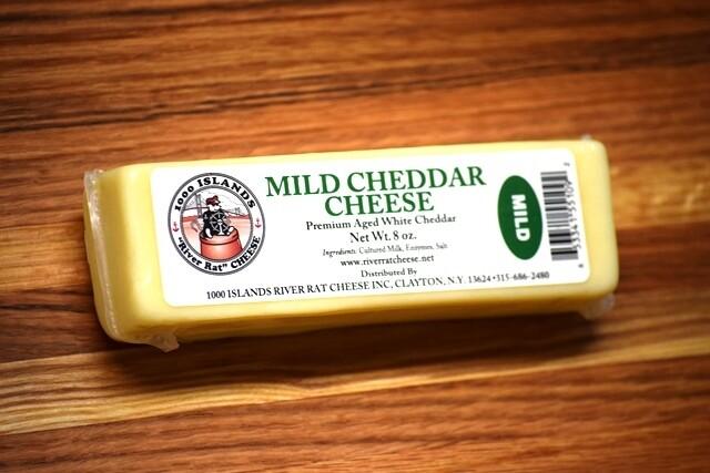 River Rat Mild Cheddar Cheese