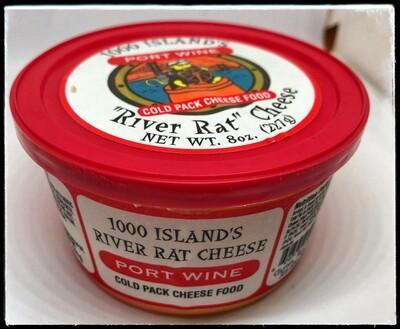 River Rat Port Wine Cheese Tub