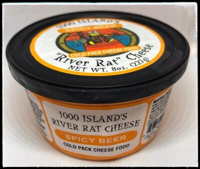 River Rat Spicy Beer Cheese Tub