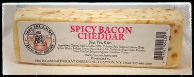 River Rat Spicy Bacon Cheddar Cheese