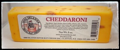 River Rat Cheddaroni Cheese