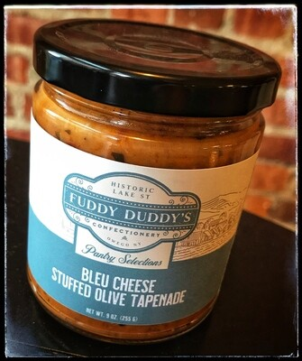 Fuddy Duddy's Bleu Cheese Stuffed Olive Tapenade