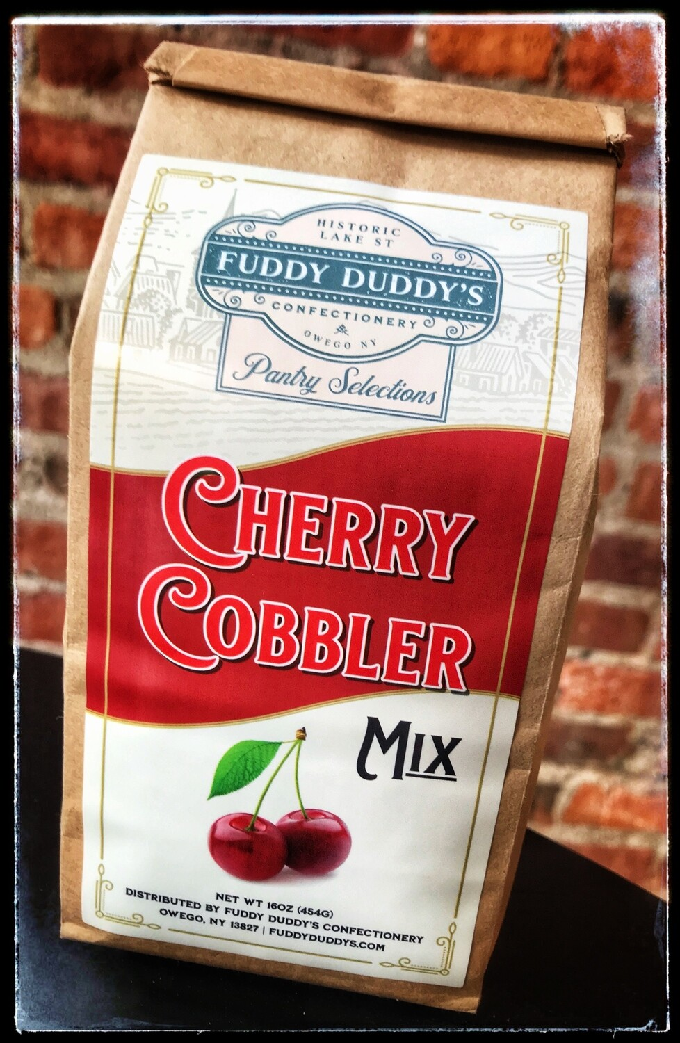 Fuddy Duddy's Cherry Cobbler Mix