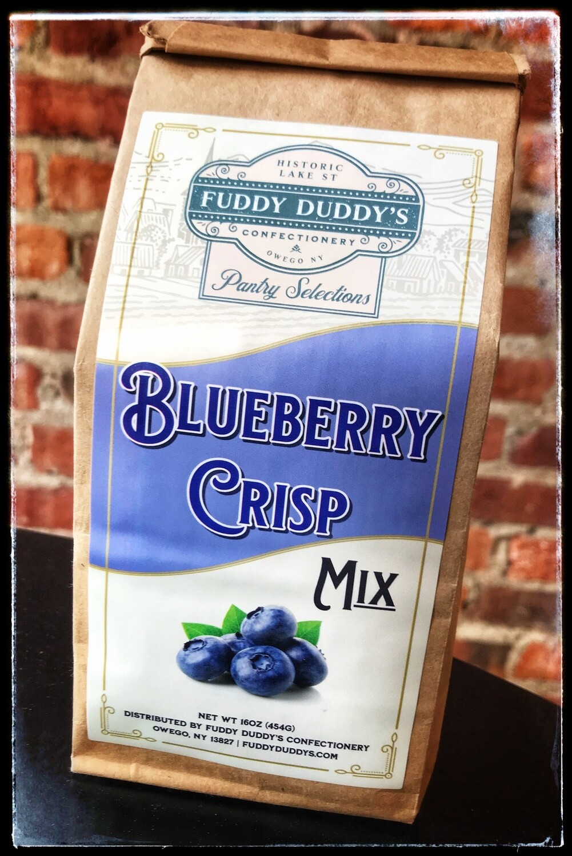 Fuddy Duddy's Blueberry Crisp Mix